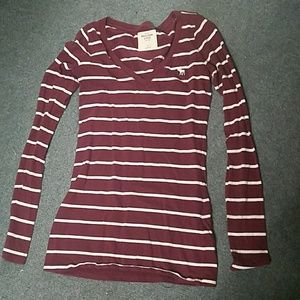 Abercrombie &Fitch striped top